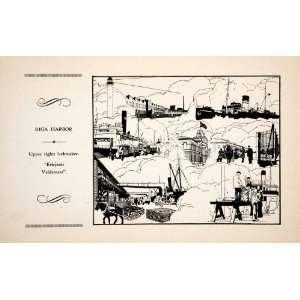 Krisjanis Valdemars Sigismunds Vidbergs Art   Relief Line block Print