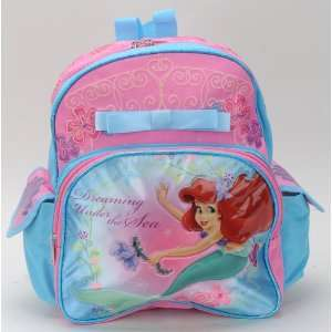 Walt Disney Little Mermaid Ariel Small Backpack and One