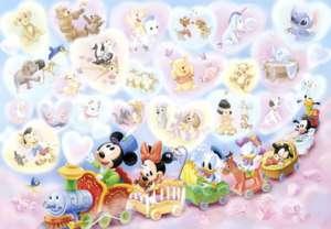 Japan Jigsaw Puzzle Tenyo Disney Babies Mickey 315 106
