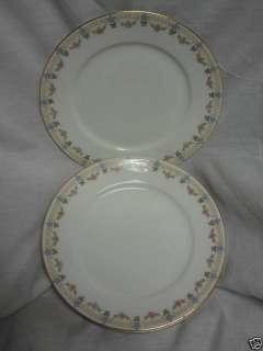 Vintage China Dinnerware W M Guerin Limoges France Pink Rose swag 3