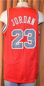 premium selection fdc42 6113d VINTAGE CHICAGO BULLS  23 MICHAEL JORDAN NIKE 1984 FLIGHT SEWN JERSEY