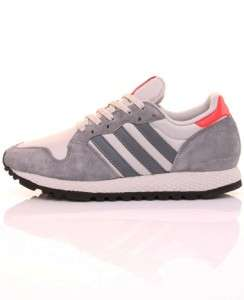 adidas Mens Originals ZX380 Gray Suede Running Shoes Sneakers Trainers