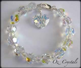 Swarovski Crystal Truly In Love Heart Pendant,Necklace,Bridal