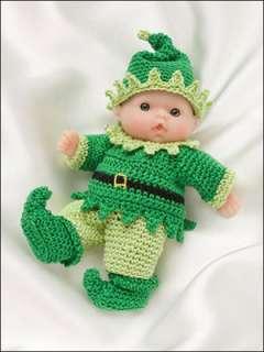 Itsy-Bitsy-Babies-Crochet-Patterns-5-dolls-Doll-Clothes- | eBay
