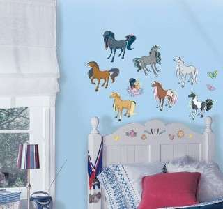 RoomMates Horseland Peel & Stick Wall Decals removable 33 stickers