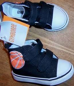 Baby/Toddler Boy Gymboree Black Basketball Shoes, NWT