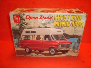 MPC Chevy Van Open Road Mini Motor Home Model Car Kit