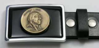 Black Elk Lakota Sioux Medicine Man Medallion Buckle SR