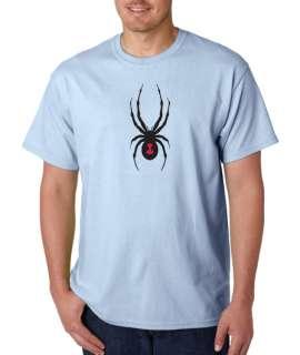 Black Widow Spider 100% Cotton Tee Shirt
