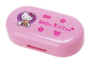 pink hello kitty contact case is fun tastic perfect for overnights