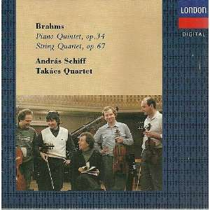 Piano Quintet / String Quartet Brahms, Schiff, Takacs