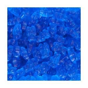 Candy, RoJos Gourmet, Beary Blue Gummi Bears, 1 Pound Bag