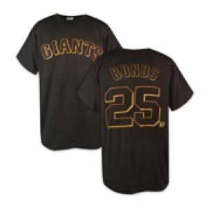 Barry Bonds T Shirt   San Francisco Giants #25 Barry Bonds Name