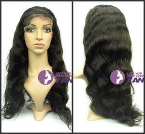 22 Body Wave wigs _100% Indian Remy Human Hair Full Lace / Front