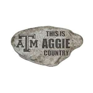 Texas A&M Aggies TAMU NCAA 13In Country Garden Stone