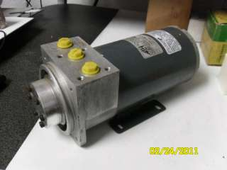 Reliance Electric Power Unit Hydraulic Generator Pump ? only 9.5 long