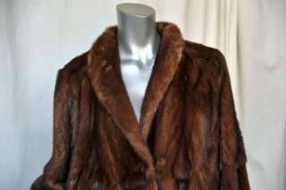 FENDI Magnificent*VINTAGE* REVERSIBLE MINK+Green Suede Long FUR Maxi
