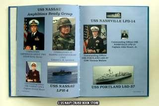 USS PORTLAND LSD 37 CRUISE BOOK 2000 2001
