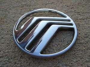 Mercury emblem badge decal logo symbol Sable Grand Marquis