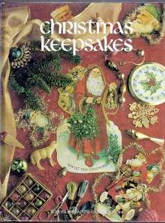 Christmas Keepsakes (1990, Hardcover) Cross Stitch OoP