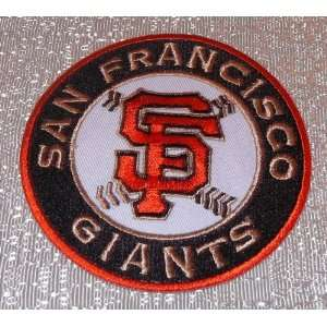MLB San Francisco Giants Embroidered Crest Jacket PATCH