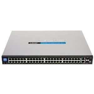 48 port 10/100 + 2 port Gigabit Smart Switch   SFPs/PoE Electronics