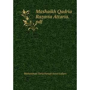 Qadria Razavia Attaria.pdf Muhammad Tariq Hanafi Sunni Lahori Books