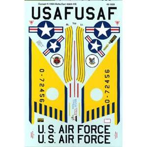 F 106 A Delta Dart, 456th FIS (1/48 decals): Toys & Games