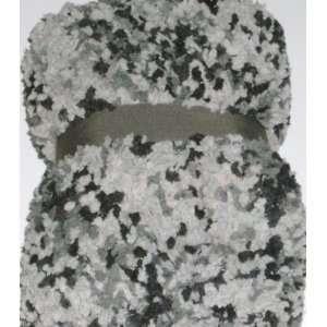 Black Plush Micro Bubble Super Soft Throw Blanket