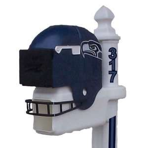 Seattle Seahawks Football Helmet Mailbox Sports