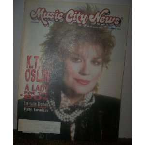 Music City News Magazine April 1988 Neil Pond Books