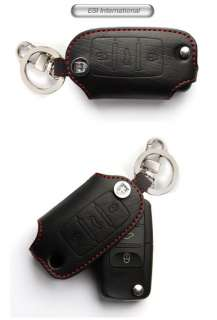 HIGH QUALITY REAL LEATHER KEY COVER VW JETTA GOLF GTI