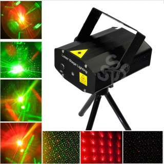 Black Mini RG Projector Holographic Laser Stage DJ Disco Party