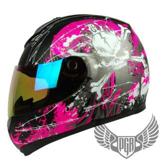 Full Face DOT APPROVED Motorcycle Helmet for Street race bike r