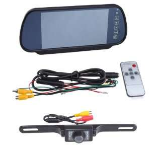 LCD Car Rear View Backup Parking Monitor With Camera (Two way video
