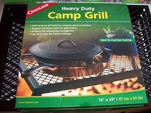 Coghlans Heavy Duty Camp Grill #1130   NEW
