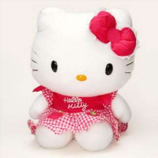 Hello Kitty captivates your heart with this adorable 113/4 plush. You