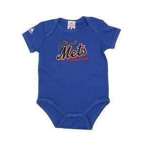 New York Mets Newborn Fan Club Creeper by Majestic