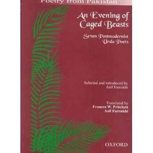 Urdu Poets (9780195790207): Asif Farrukhi, Frances W. Pritchett: Books