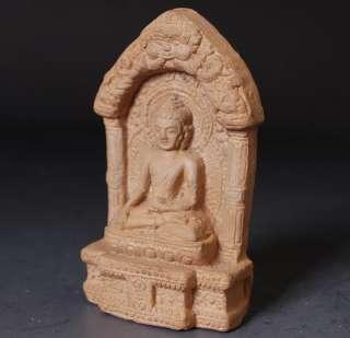 Rare Clay TSATSA Medicine Buddha Statue Tibet Buddhist