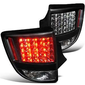 TOYOTA CELICA HATCHBACK GT GTS LED TAIL LIGHTS BLACK