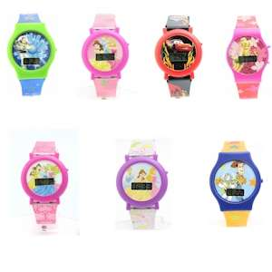 Disney Kids Boys and Girls Watch (7 Different Styles)