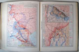 1947 RUSSIAN SOVIET MILITARY ATLAS WW2 WAR MAP BOOK