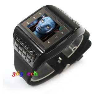Unlocked Quad Band touch screen Wrist Watch Mobile Cell Phone