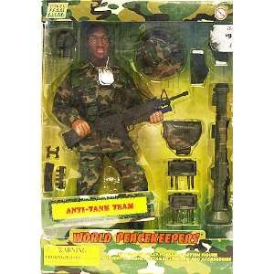 Power Team Elite World Peacekeepers Anti Tank Team Figure