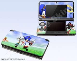 Nintendo 3DS Skin Vinyl Decal   Sonic Rivals #2