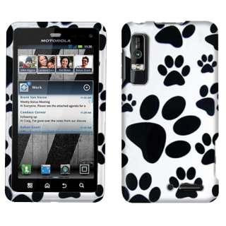 Dog 2D Paw Texture Accessory Hard Case Cover For Verizon Motorola