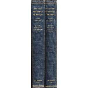 Reich (Editor) Radio Research Laboratory Harvard University Books