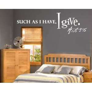 Christian Vinyl Wall Decal Mural Quotes Words C067suchasii: Everything