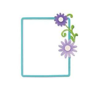 Frame, Rectangle w/ Flowers & Vine Arts, Crafts & Sewing